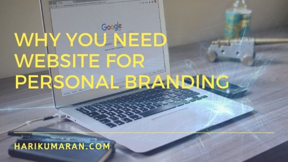 Why You Need Website For Personal Branding